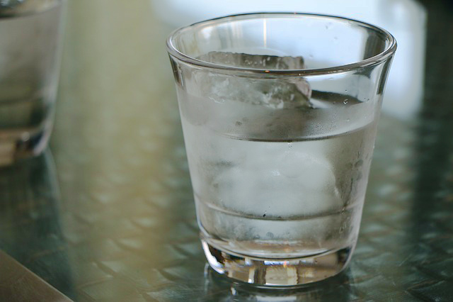 冷たい水を与えないようにしよう