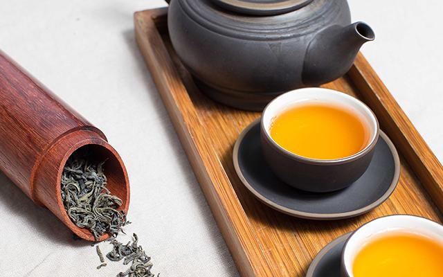 せん茶、ほうじ茶、玄米茶、ウーロン茶、緑茶